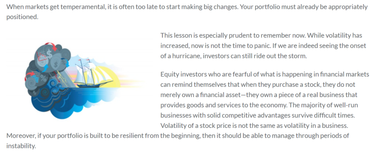 You Don't Fix a Ship in a Hurricane Mawer Investments