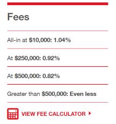 Steadyhand Fees